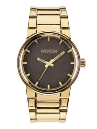 MENS CANNON - ALL GOLD/BLACK WATCH