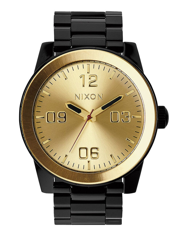 MENS CORPORAL SS - BLACK/GOLD WATCH