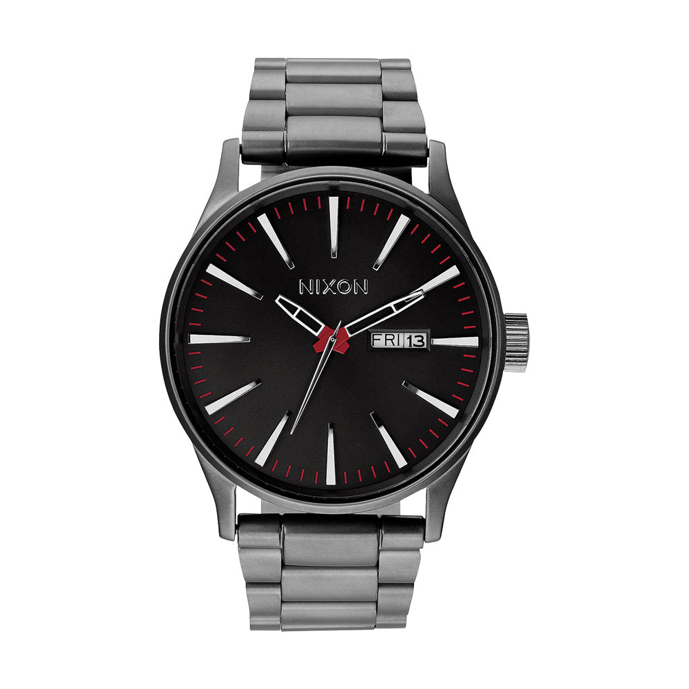 MENS SENTRY SS - GUNMETAL WATCH