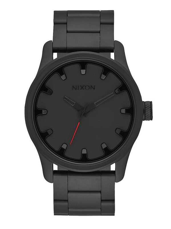 MENS DRIVER   ALL BLACK WATCH
