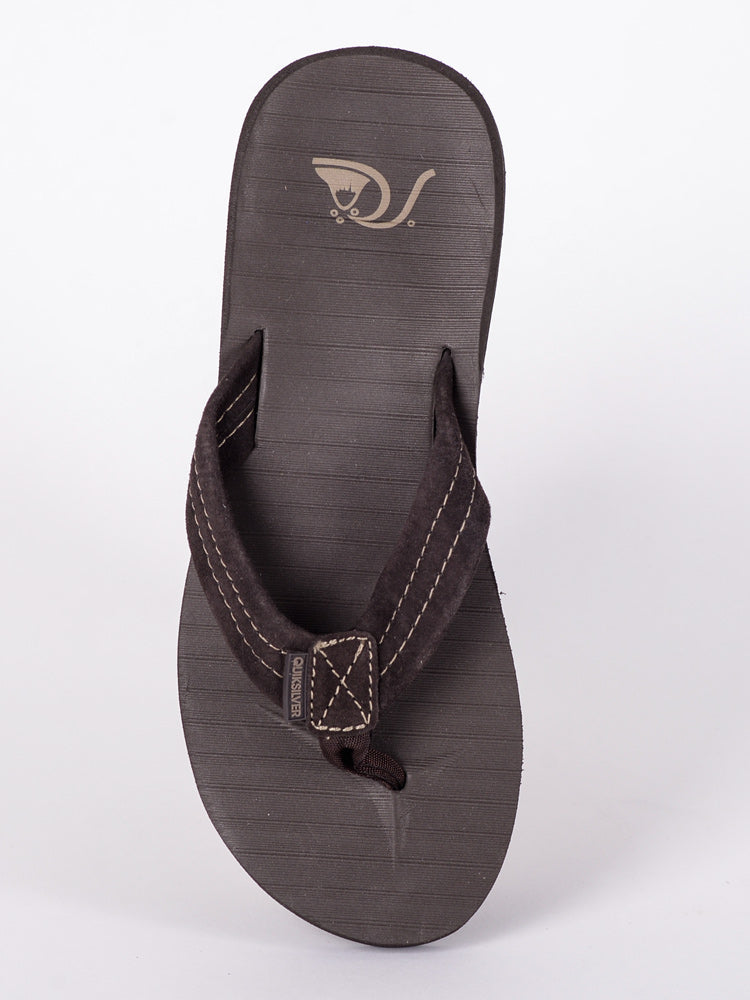 MENS CARVER SUEDE DEMITASSE SOLID SANDALS