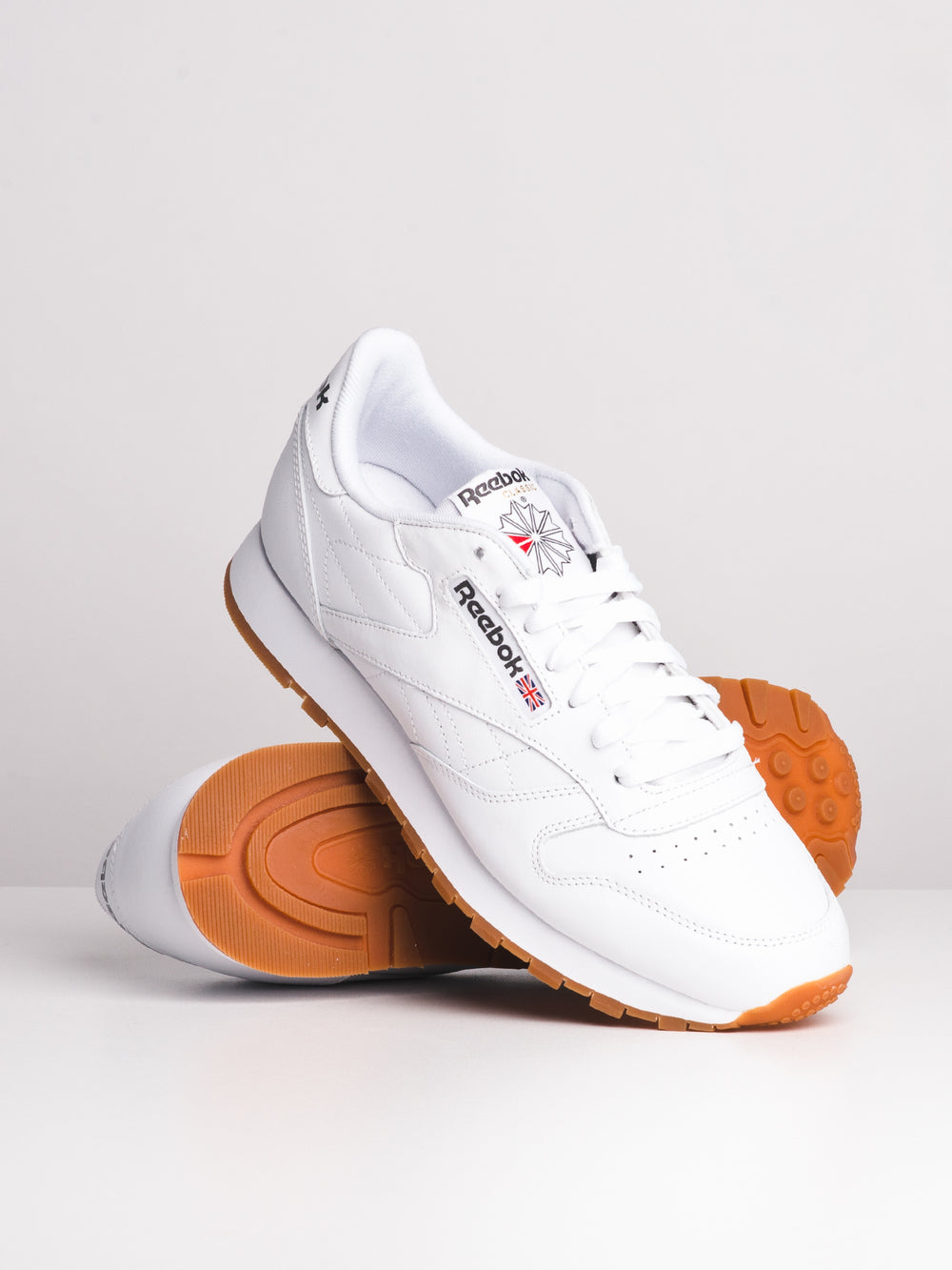 6e1866b3b39 MENS CLASSIC LEATHER - WHITE GUM. REEBOK