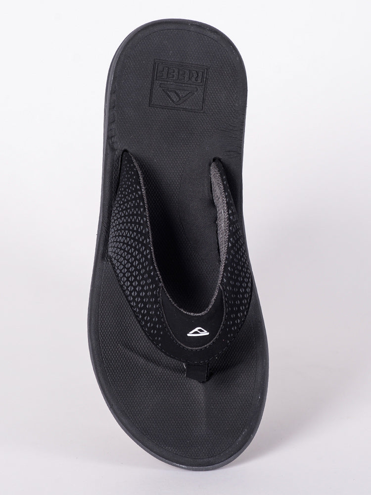 MENS REEF ROVER BLACK SANDALS