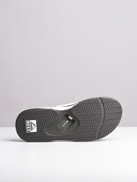 MENS FANNING GREY/WHITE SANDALS