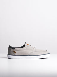 MENS REEF DECKHAND 3 GREY/WHITE SLIP-ONS- CLEARANCE
