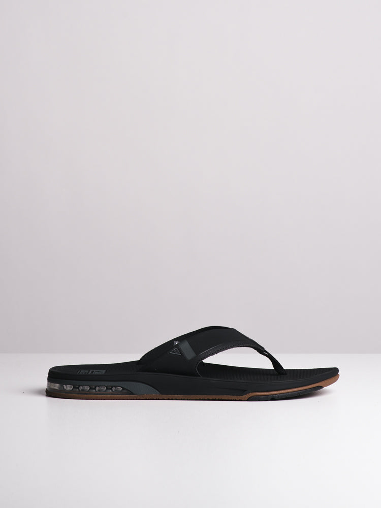 601f038fdced MENS FANNING 2.0 BLACK SANDALS- CLEARANCE