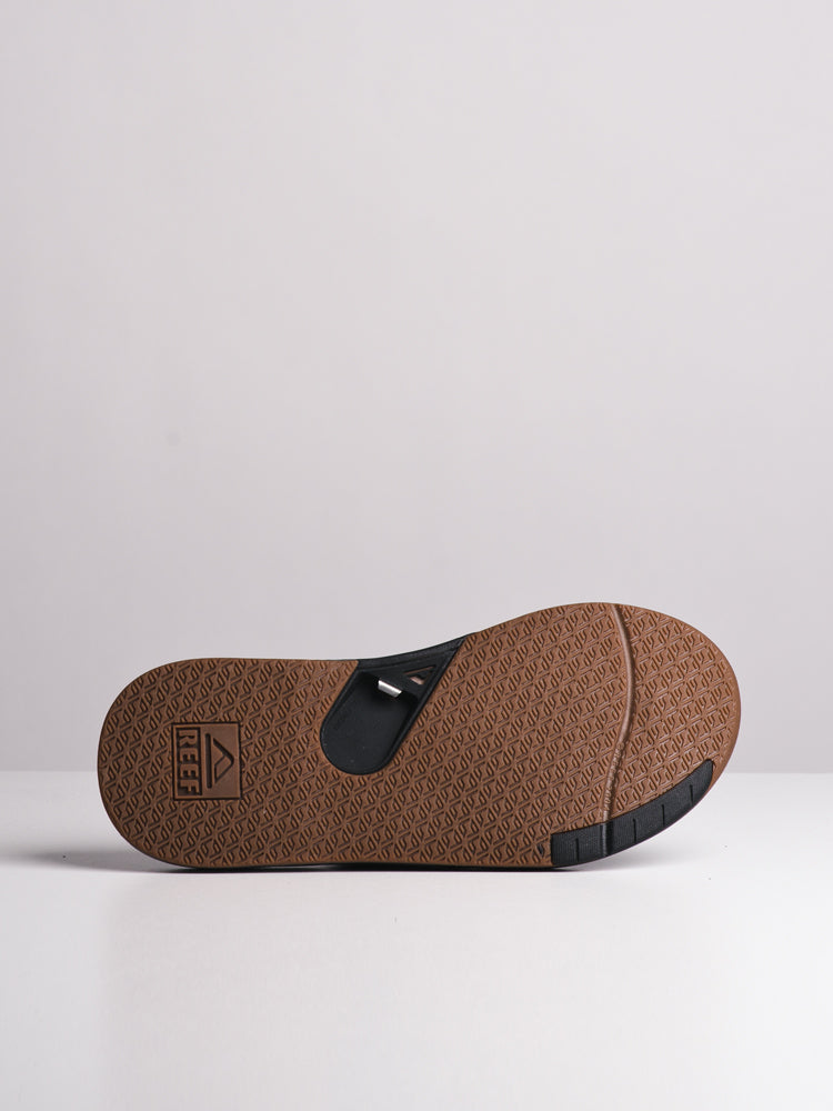 MENS FANNING 2.0 BLACK SANDALS- CLEARANCE
