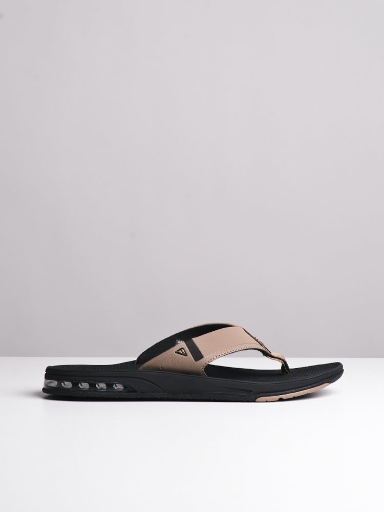 MENS FANNING 2.0 BLACK/TAN SANDALS- CLEARANCE
