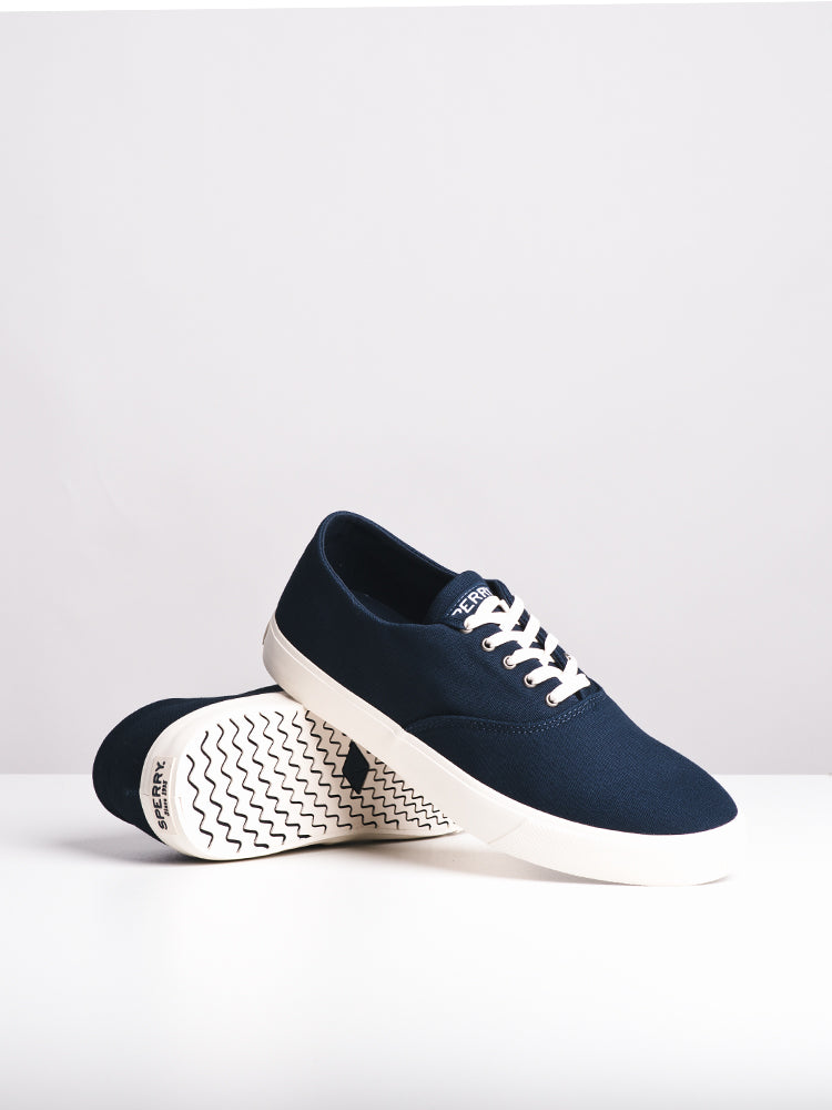 MENS CAPTAIN'S CVO NAVY CANVAS SHOES- CLEARANCE