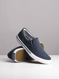 MENS STRIPER II TWIN GORE NAVY SLIP-ONS- CLEARANCE