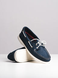 WOMENS A/O 2EYE NAVY CANVAS SHOES- CLEARANCE