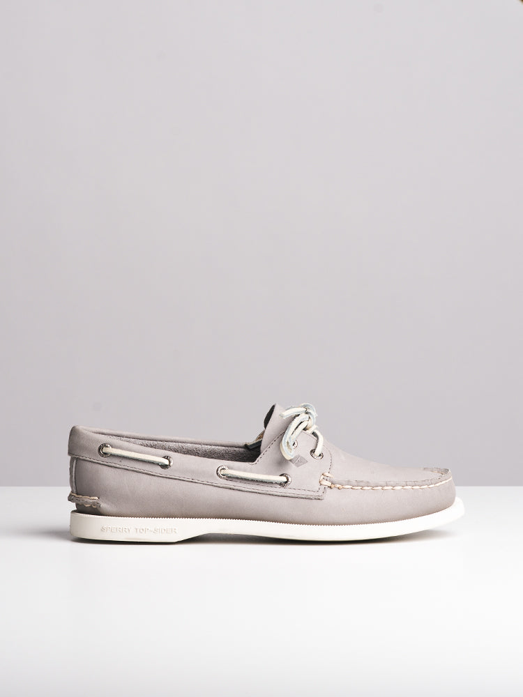 WOMENS A/O 2EYE GREY CANVAS SHOES- CLEARANCE