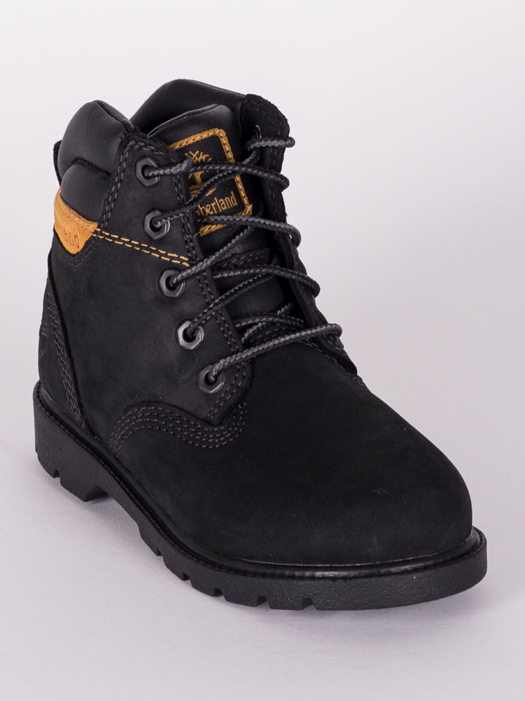 KIDS LEAVITT WP BOOT - BLACK - CLEARANCE