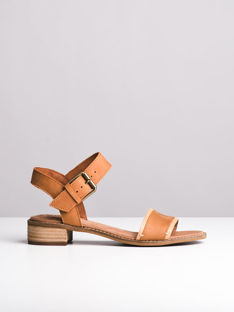 WOMENS THE CAMILIA - TAN LEATHER - CLEARANCE