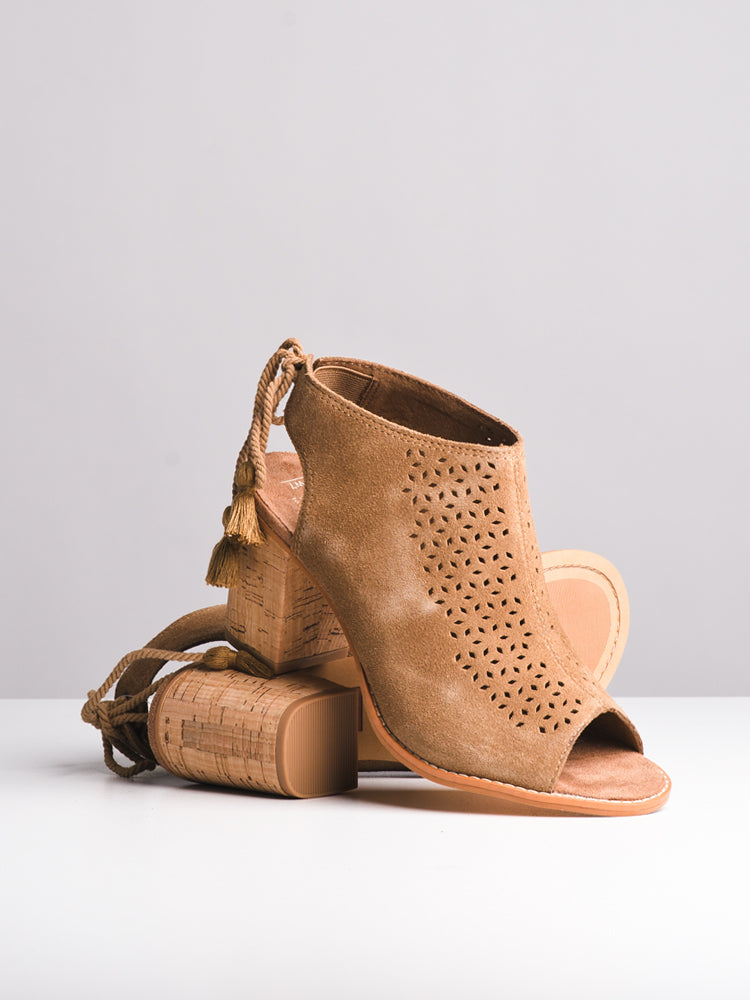 WOMENS THE ELBA - TOFFEE SUEDE - CLEARANCE