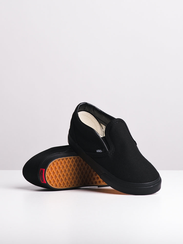 KIDS TODDLER CLASSIC SLIP ON BLACK/BLACK