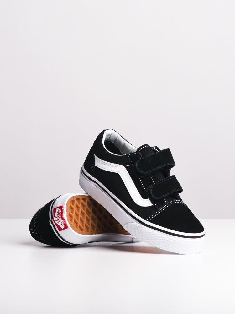 KIDS OLD SKOOL V BLACK/WHITE
