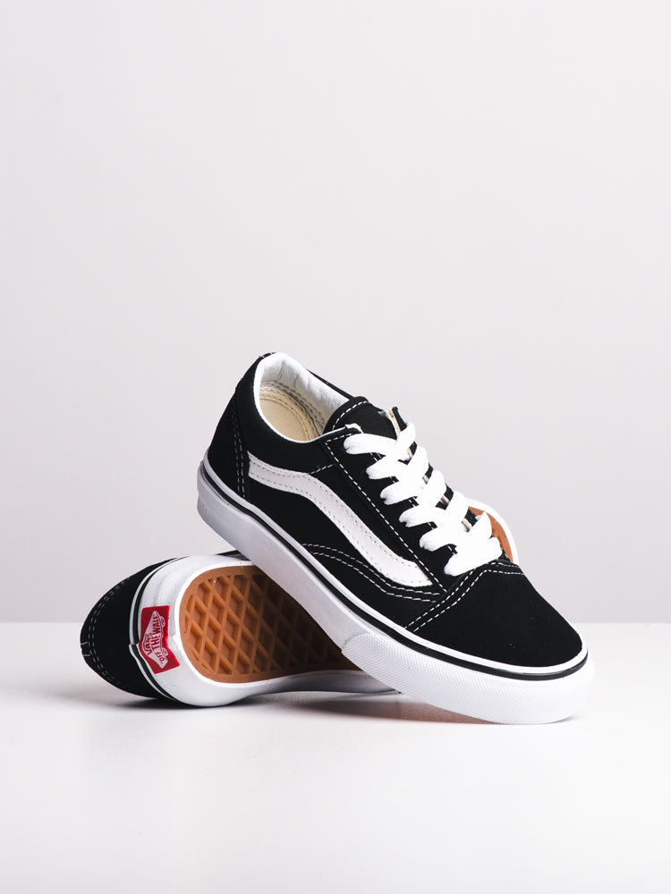 KIDS OLD SKOOL YTH BLACK/WHITE
