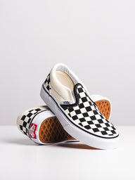 KIDS CLASSIC SLIP ON CHECKER