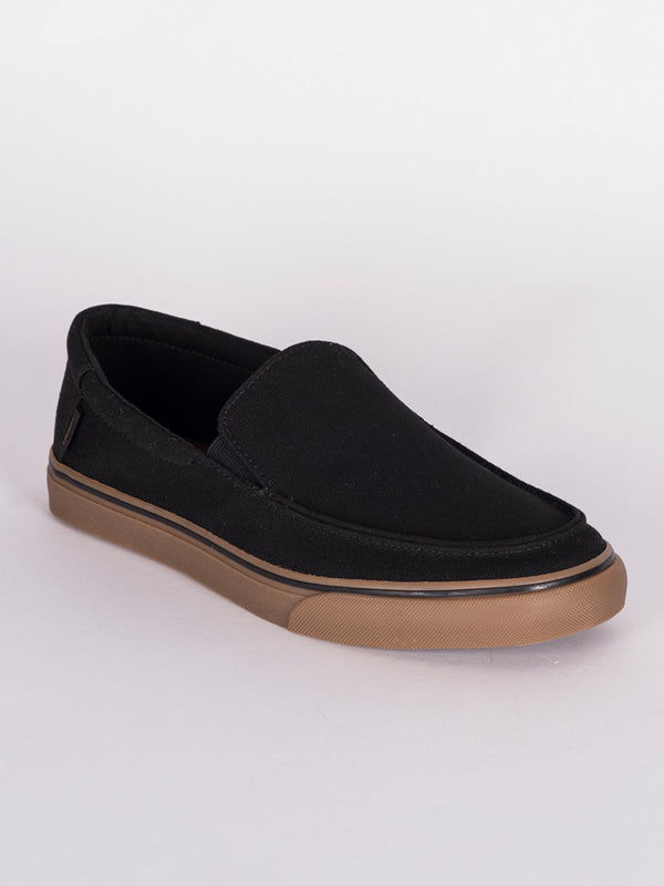 MENS BALI SF - BLACK CANVAS