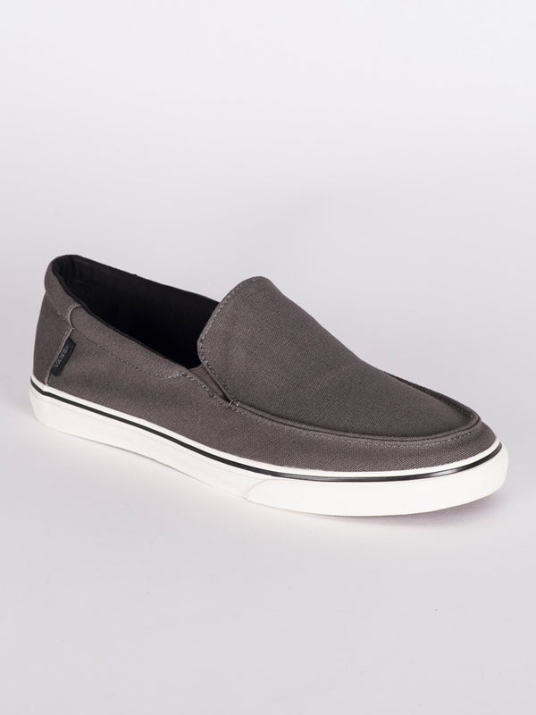 MENS BALI SF - GUNMETAL CANVAS