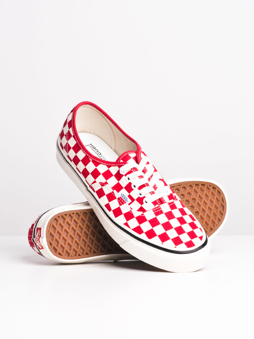 MENS AUTHENTIC 44 DX - OG RED CHECK - CLEARANCE