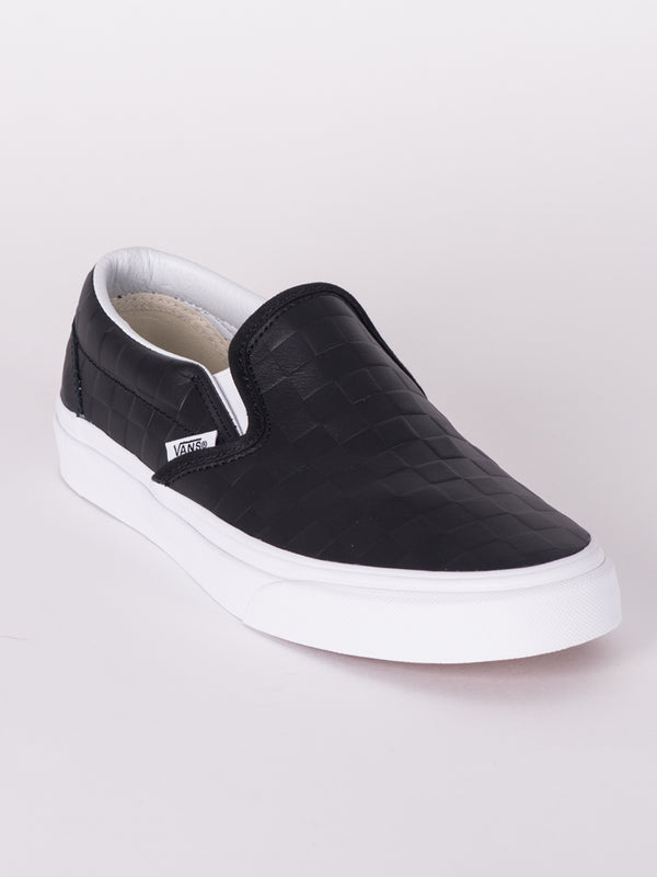 WOMENS CL SLIP ON LTHR