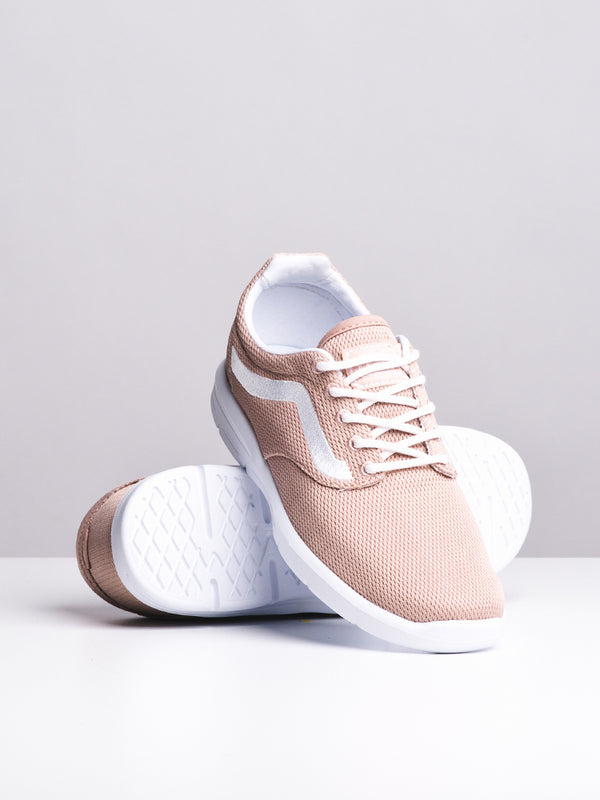 WOMENS ISO 1.5 MESH ROSE/WHITE SNEAKERS