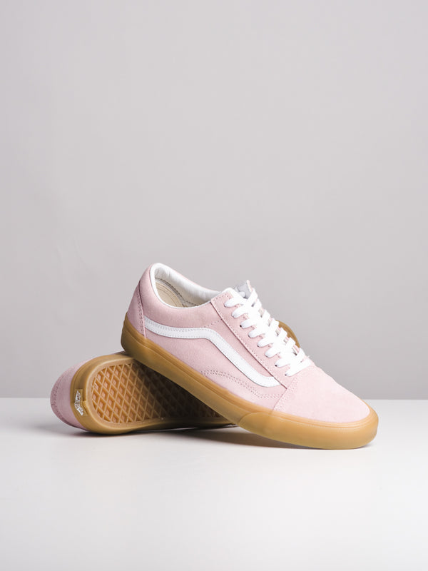 MENS OLD SKOOL DOUBLE GUM/PINK CANVAS SHOES
