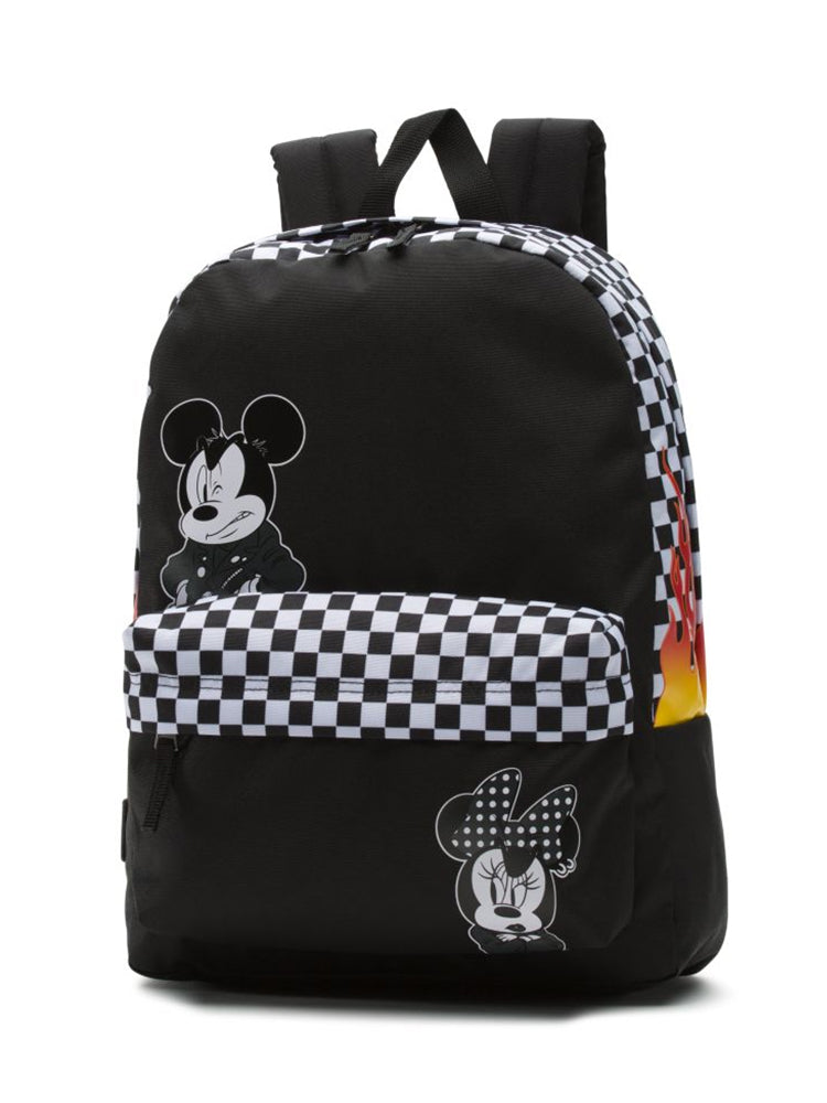 PUNK MICKEY BACKPACK - BLACK - CLEARANCE