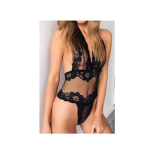 Load image into Gallery viewer, Peek-A-Boo Lace One-Piece