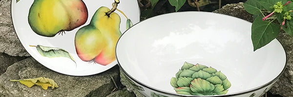 Fresh Produce by Golden Rabbit Enamelware