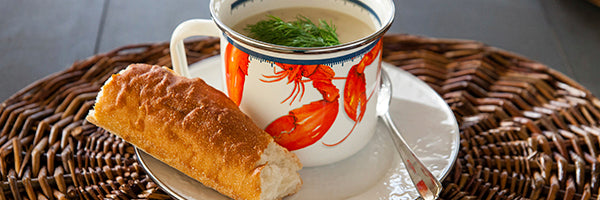 Lobster by Golden Rabbit Enamelware