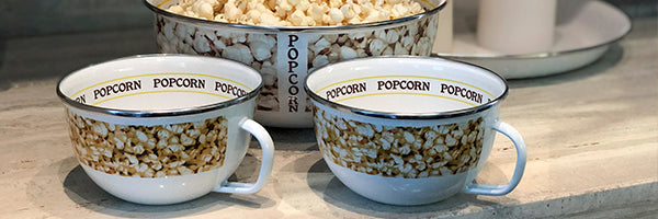 Popcorn by Golden Rabbit Enamelware