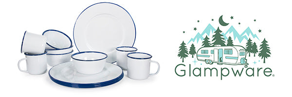 Cobalt Glampware by Golden Rabbit Enamelware