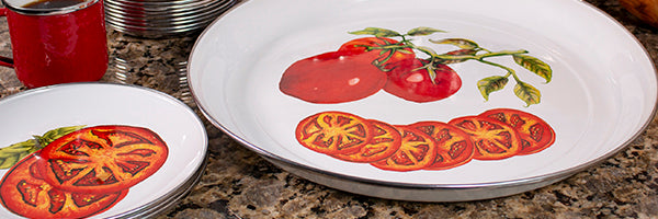 Tomatoes by Golden Rabbit Enamelware