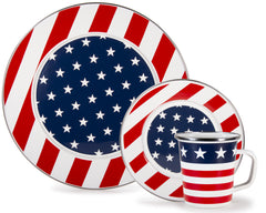 Stars and Stripes Enamelware