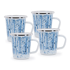 Set of 4 Aspen Grove Latte Mugs