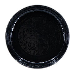 BK04S4 - Set of 4 Solid Black Pasta Plates Image 3