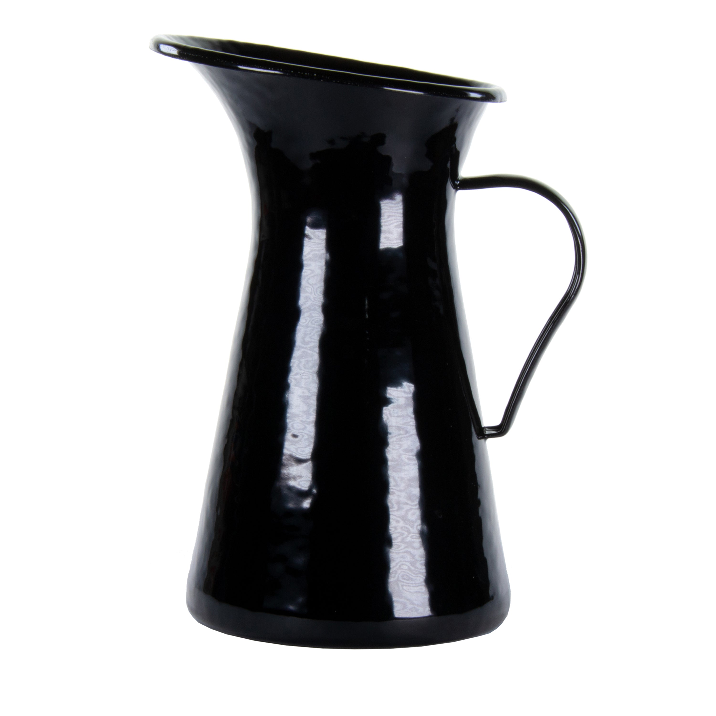 BK63 - Solid Black Medium Pitcher Image 1