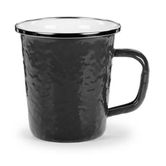 BK66 - Solid Black Pattern - Latte Mug