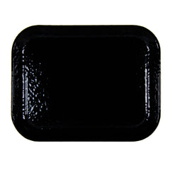 Solid Black Half Sheet Tray