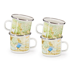 Set of 4 Peter Rabbit Child Mugs