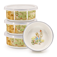 Set of 4 Peter Rabbit Child Bowls