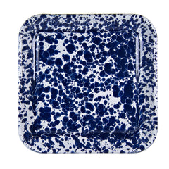 CB09S2 - Set of 2 Cobalt Swirl Square Trays Product 2