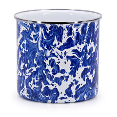 CB34 - Cobalt Swirl Pattern - Utensil Holder