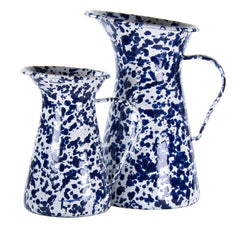 CB33 - Cobalt Swirl Small Pitcher Product 2
