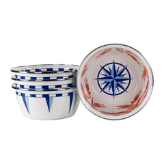 CR61S4 - Set of 4 Crab House Salad Bowls Image 1