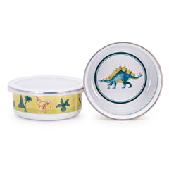 DN60S4 Set of 4 Dinosaurs Child Bowls