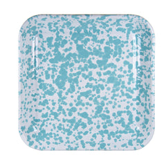GL09S2 - Set of 2 Sea Glass Square Trays Image 2